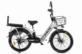 Велогибрид Green City e-ALFA Fat 022302-2162 коричневый